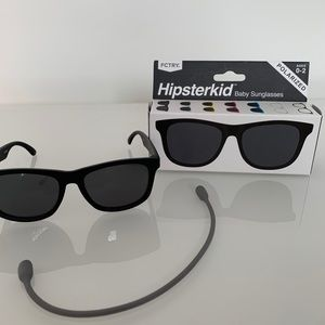 Hipster kid polarized sunglasses